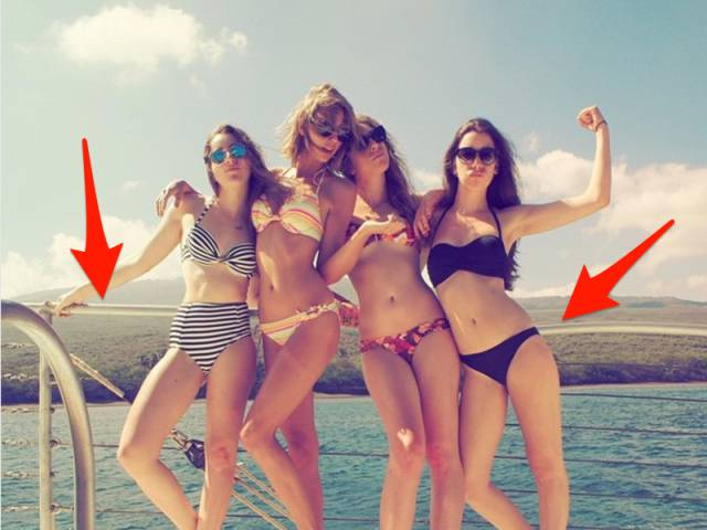 Celebrities Aren't Always Photoshopped Properly…