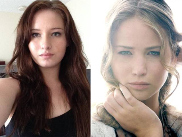 Now Jennifer Lawrence Has Her Own Doppelganger!