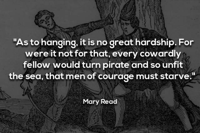 Creepy Words Said Once By Real Pirates