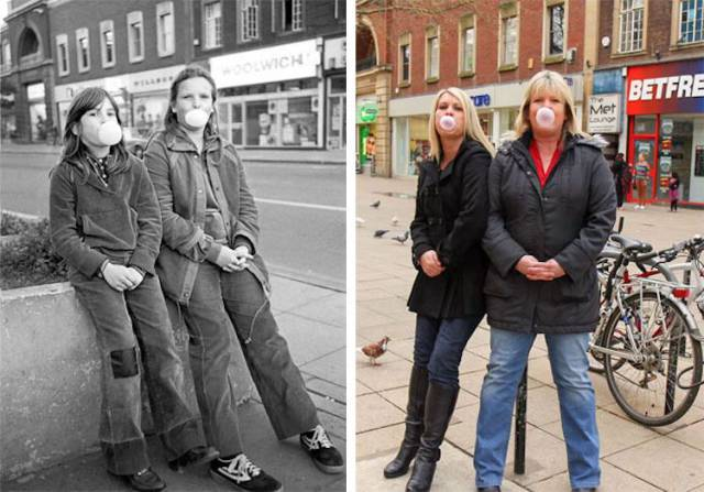 40 Years Of Difference In Photos
