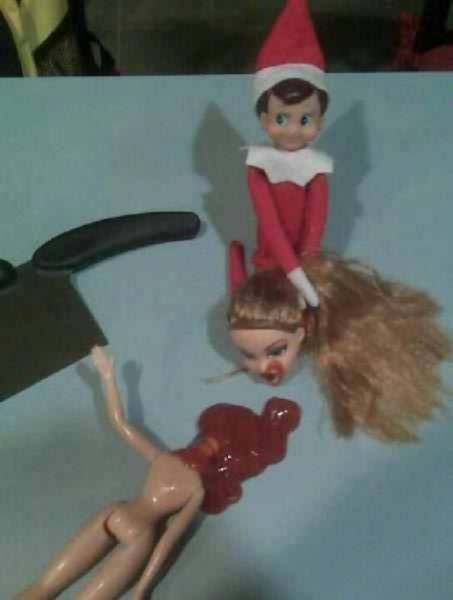Don't Let Dads Touch Elf On The Shelf!