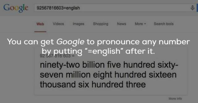 Google Facts That Google Knows About Itself