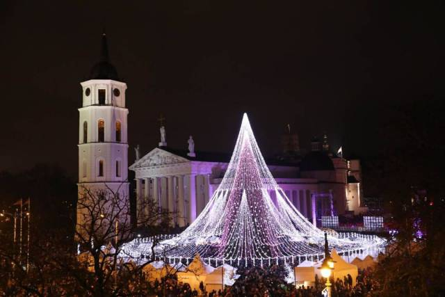 Vilnius Has Prepared Yet Another Christmas Tree Of Utmost Beauty!