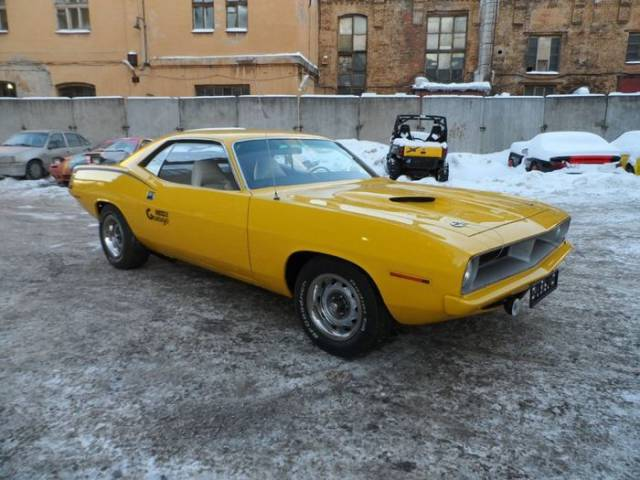 When Plymouth Barracuda 1970 Gets A Little Facelift