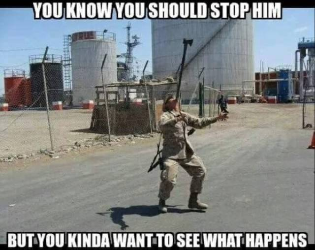 A Hot Zone Of Military Memes