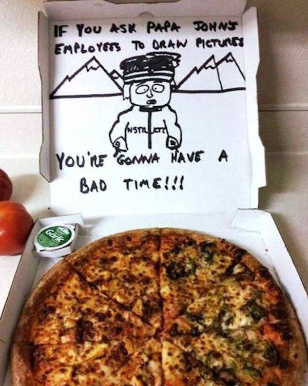 Pizza Workers Get All Kinds Of Bizarre Special Delivery Requests