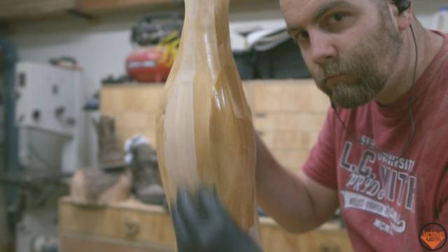 Woodworker Recreates His Own Version Of The Christmas Story Leg Lamp