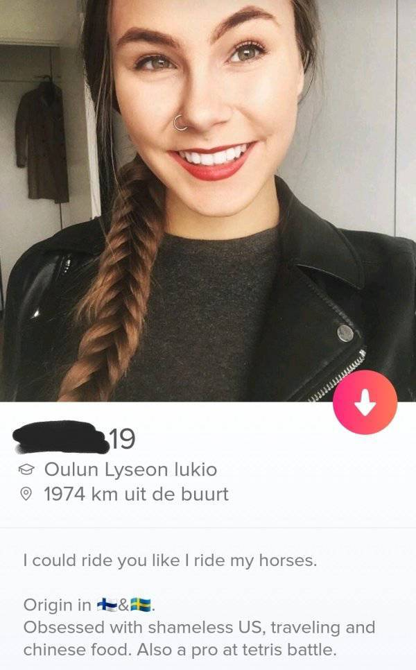 You'd Be Amazed That Such Tinder Profiles Exist