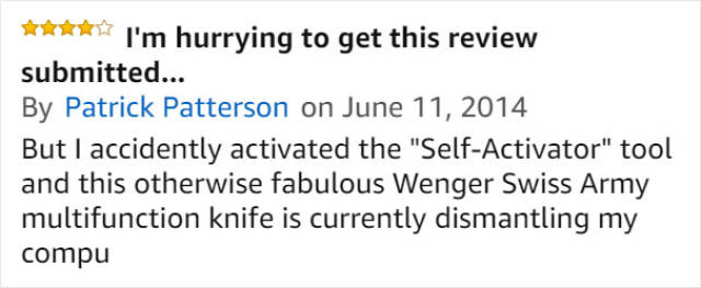 Amazon Reviewers Are Enjoying This $9000 Swiss Knife Very Much