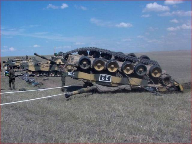 Even Tanks Can Fail