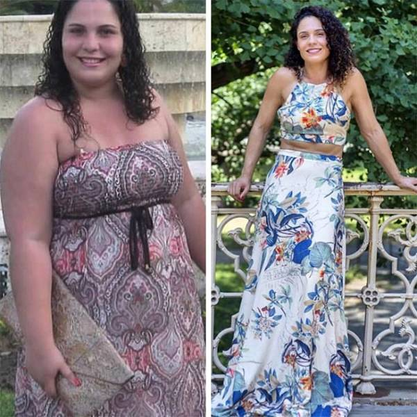 Weight Loss Transformations That Show What Power Of Will Can Do