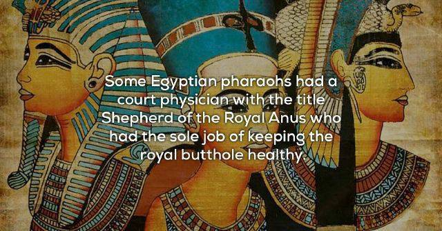 Facts That Come From The Past