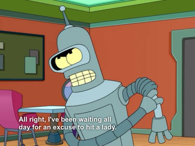 Bender: The Best Robot Out There