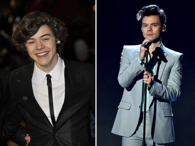 Celebs: First Red Carpet Appearance VS Now