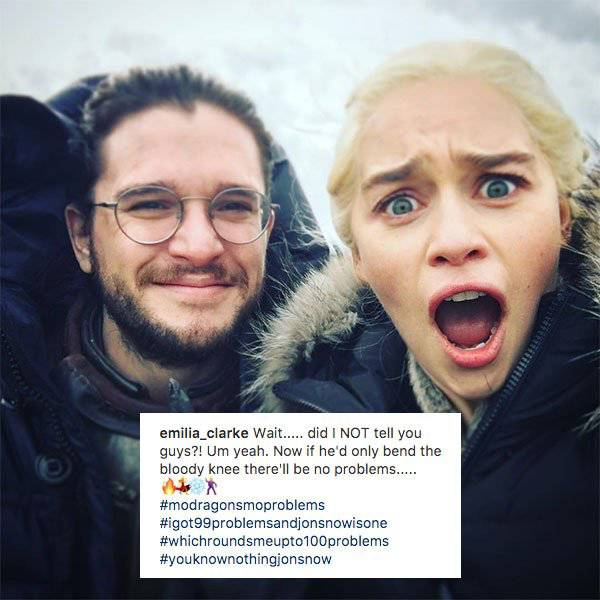 """Game Of Thrones"" Actors Are Actually Very Good Friends Behind The Camera!"