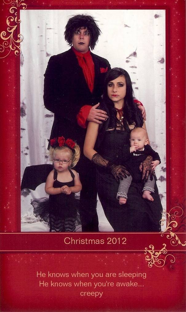 This Family Might Be Making The Best Christmas Cards!