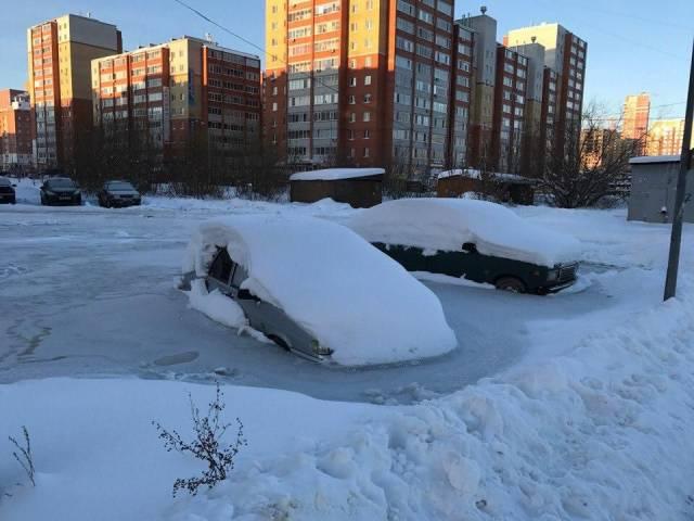 Prisoners Of The Frozen Water