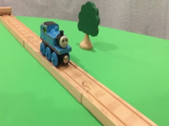 Unreal Stunts With Thomas Train