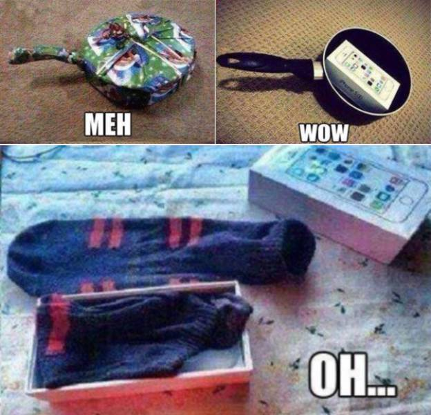 Christmas Presents Can't Be Worse Than These