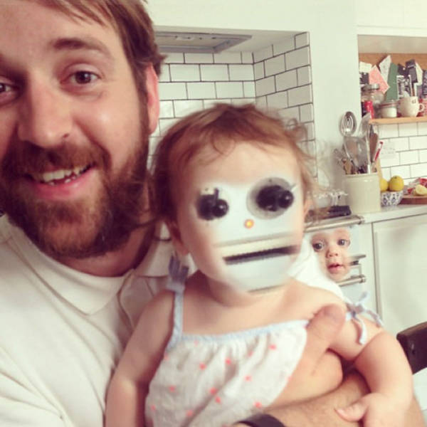 Face Swaps Gone Wrong (Or Not?)
