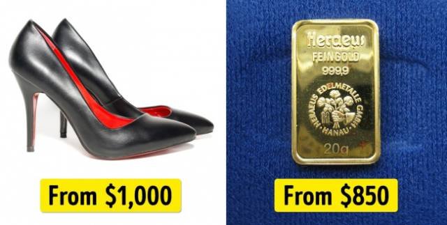 If You Want Something Expensive You Might Want To Consider What Else You Could Buy For The Same Money…