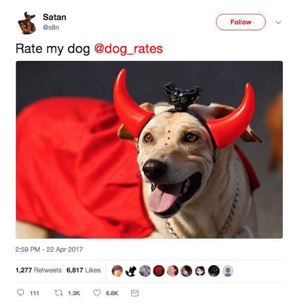 Satan Has A Damn Evil And Hilarious Twitter