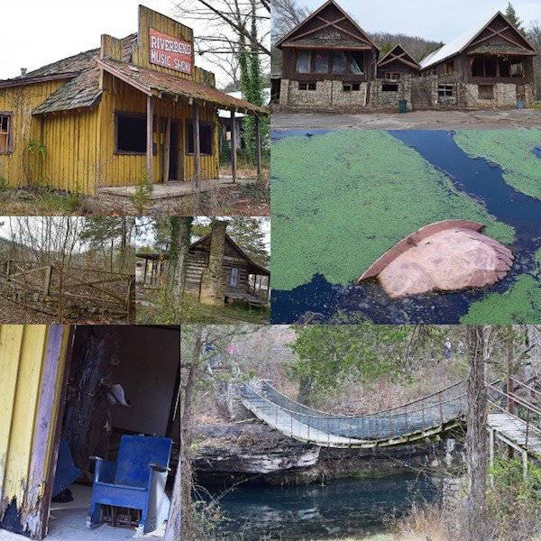 US Is Full Of Scary Abandoned Amusement Parks…