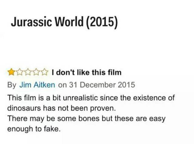 When Amazon Users Give A 1-Star Movie Review, They Do It In Style