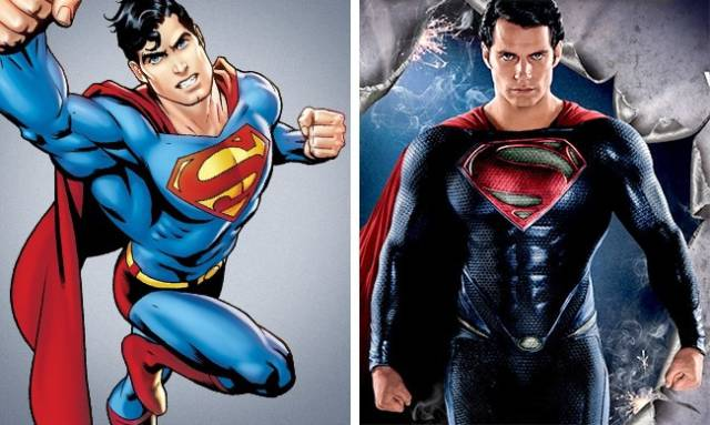 That's How Different Comic Movie Heroes Look From Their Prototypes