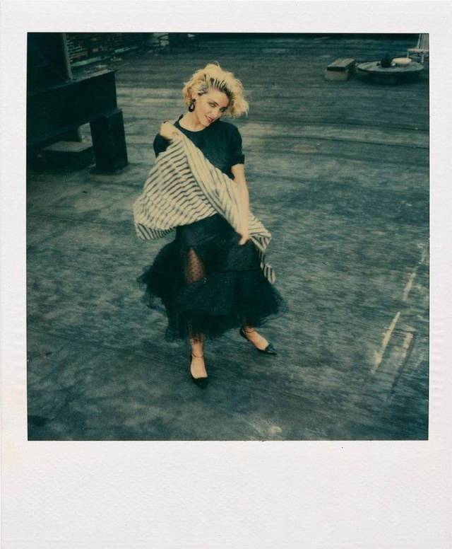 Madonna On The Verge Of Fame