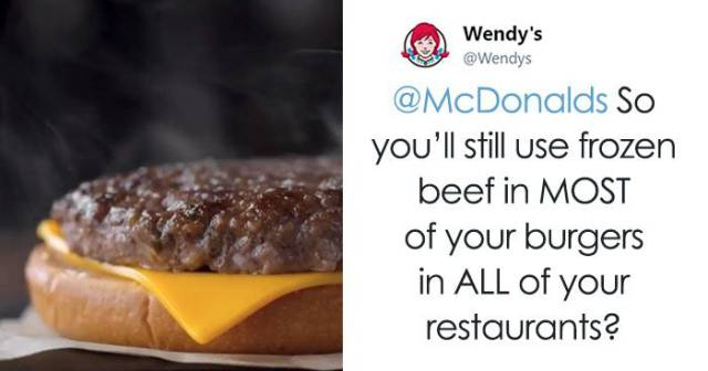 """""""Wendy's"""" Is Good Both At Roasting Meat And Other Twitter Users"""