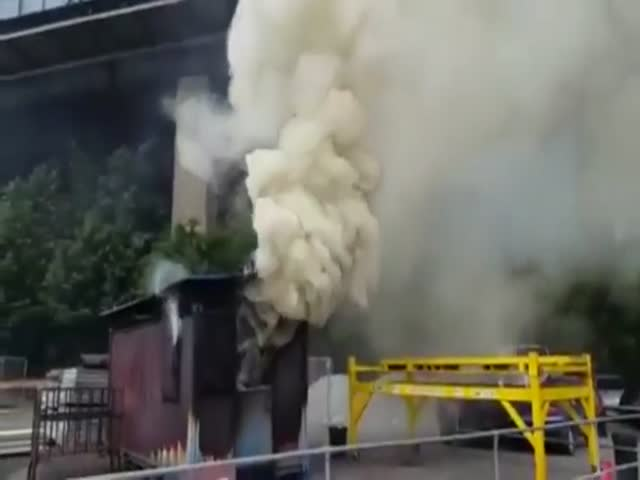 Firefighters Show What Backdraft Can Do