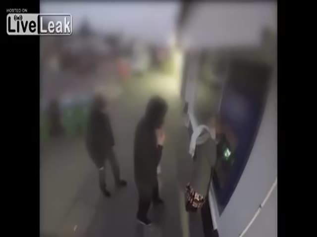 ATM Robbers Instantly Get What They Deserve
