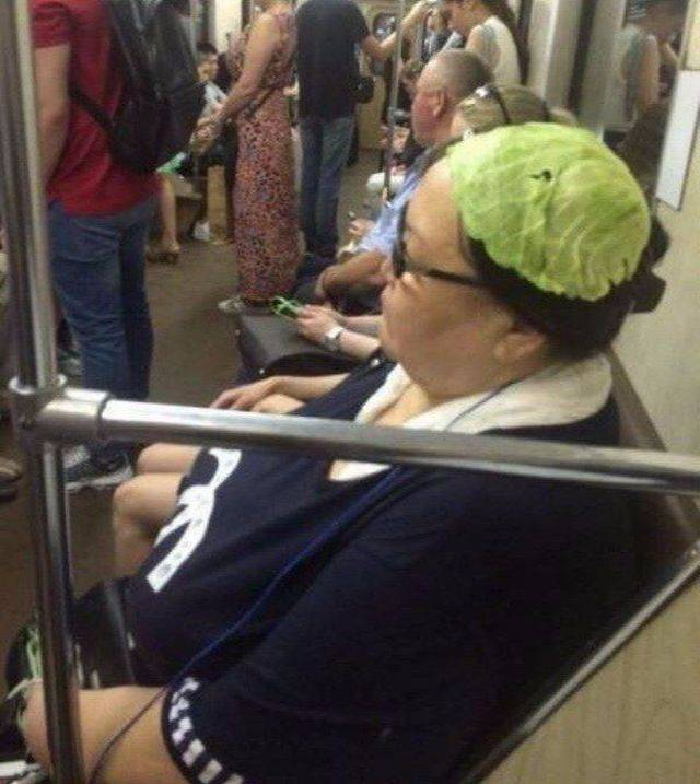 You Can Find Anything On The Subway