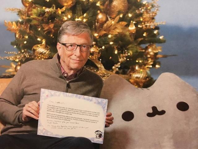 Bill Gates Strikes Again As The Secret Santa!