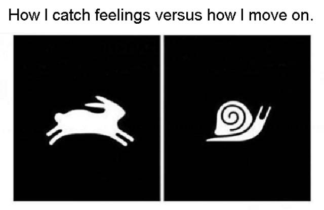 Nobody's Going To Catch Feelings Around Here