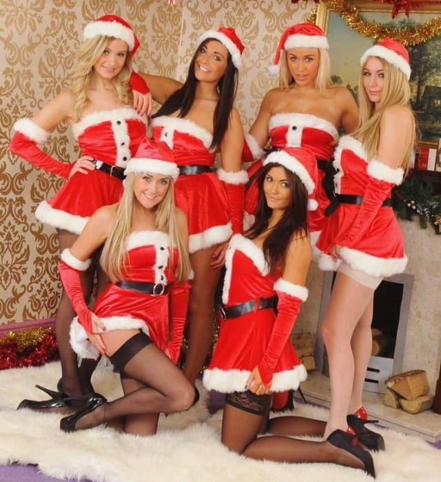 Santa Has Collected All The Naughty Girls Right Here!