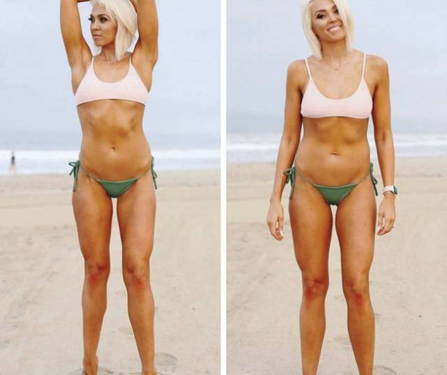 Girls Prove That Perfect Bodies Are Pretty Much Created By Instagram