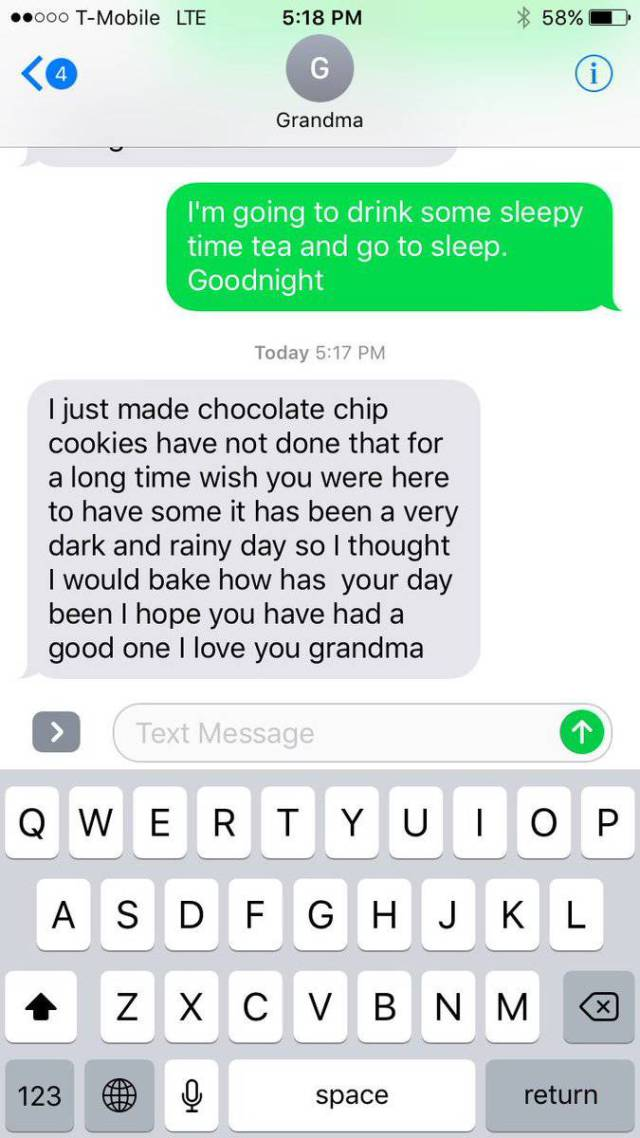 Grandparents Are Just Not Compatible With Modern Technology