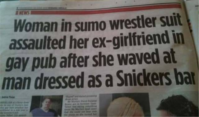 News Can Tell Us About Anything Crazy Nowadays…