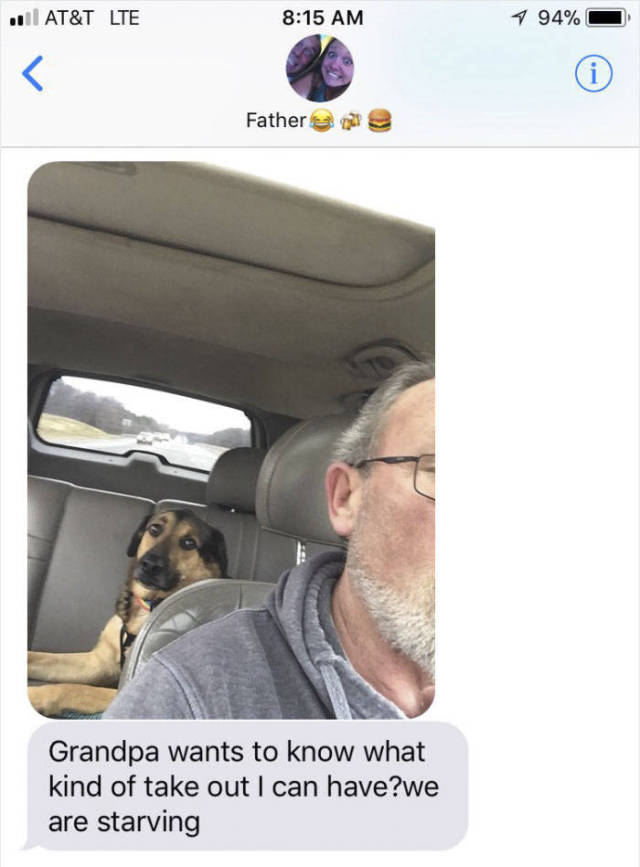 Grandpa Is The Best Person To Babysit Your Dog!