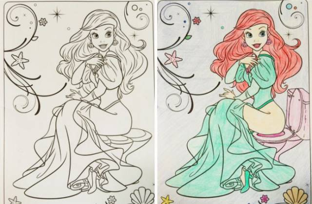 Adults Should Be Nowhere Near Coloring Books For Kids!