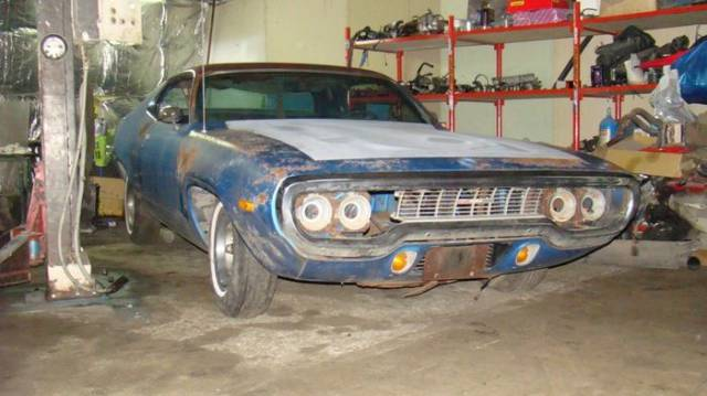Plymouth Roadrunner Gets A New Life
