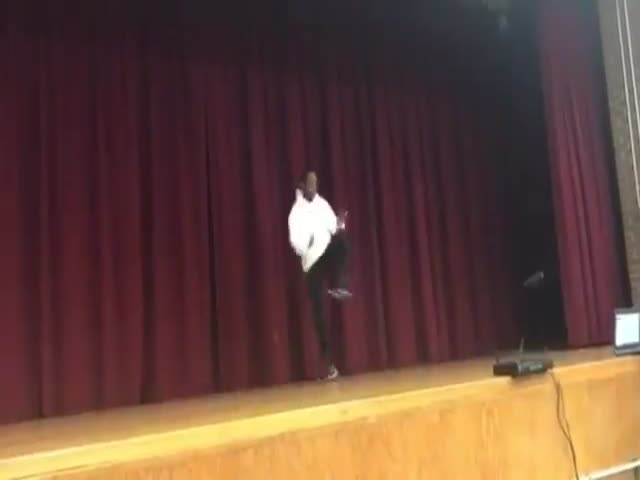 Teacher And His Student Clash In A Dancing Battle