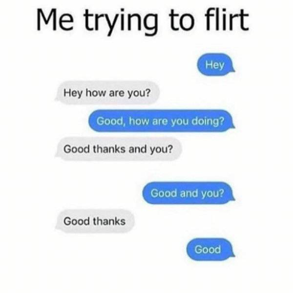 Error 404: Flirting Ability Not Found