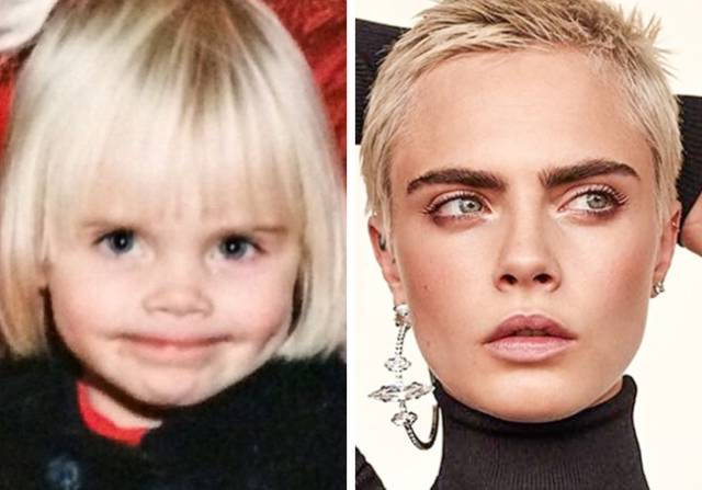 Genetic Beauty Is Not So Genetic Sometimes, As These Childhood Pictures Of Celebrities Can Tell