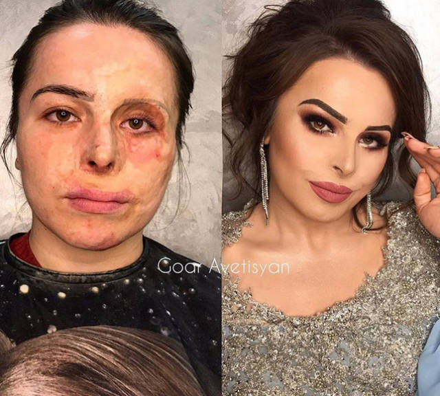 Makeup That Looks More Impressive Than Any Surgery