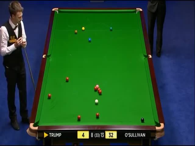Snooker Match Briefly Halted By A Fart