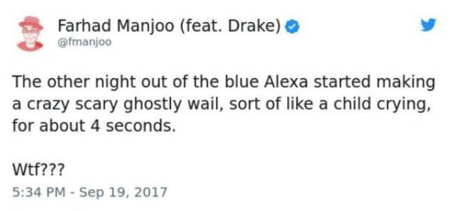 Alexa Is A Pretty Terrifying Thing To Be Honest