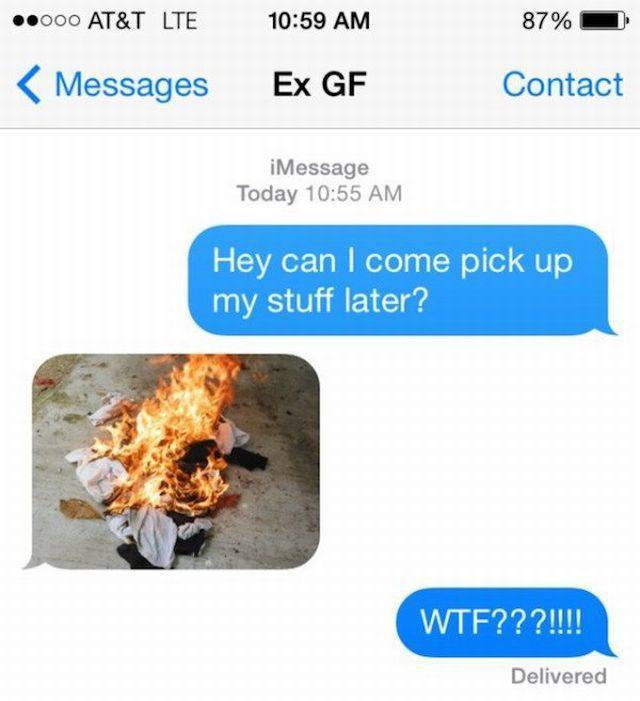 Crazy Exes Will Do Anything To Get Their Revenge…